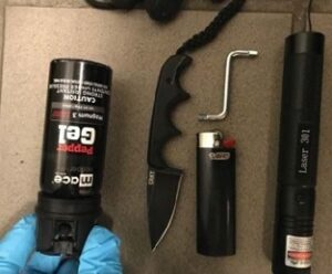 Tools used in Portland Riots